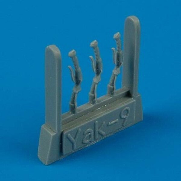 Yakovlev Yak-9 control lever (designed to be assembled with model kits from ICM)