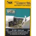 messerschmitt bf 109k interior set (designed to be assembled with model kits from fujimi and hasegaw