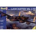 Avro Lancaster Mk.I/III (new tooling. Not Hasegawa). (The 4th picture shows the Revell Avro Lancaster with decals available sepa