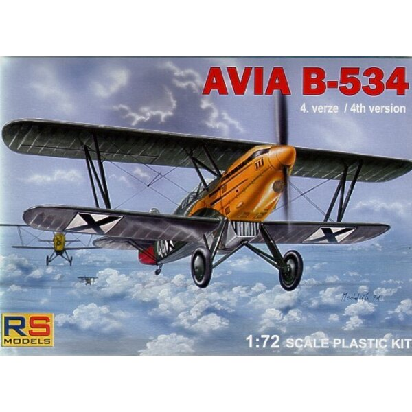 Avia B-534/IVversion/late version. Decals Bulgaria CLH Czechoslovakia. Luftwaffe and Slovakia