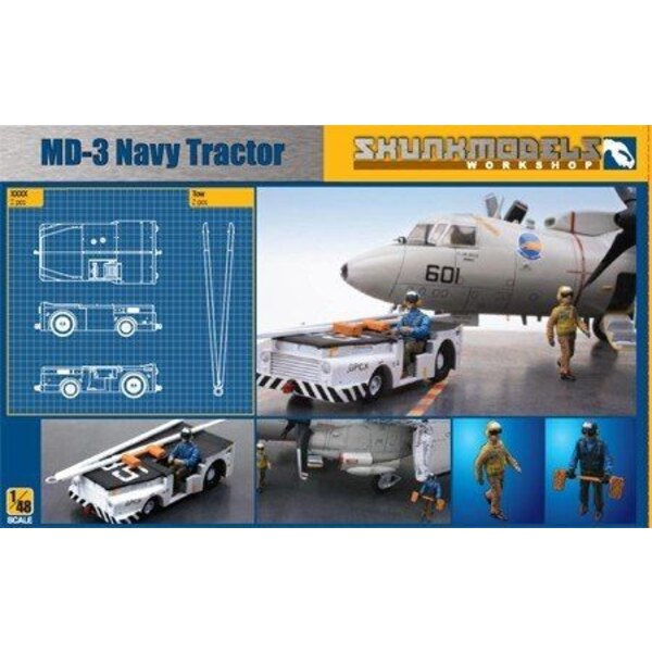 MD-3 NAVY TRACTOR SHORT TYPE with 3 figures