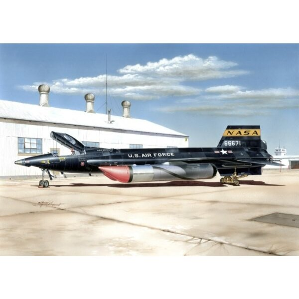 X-15A-2 with ground dolly