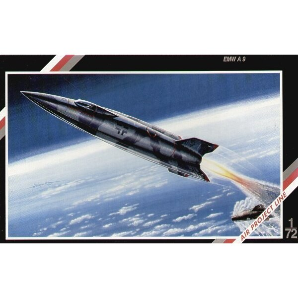 A9 Rocket. Piloted version.