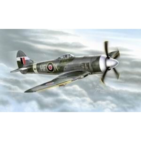 Hawker Tempest Mk.II. The last and the most powerful version of the Hawker Tempest was the Mk.II with the Centaur radial engine