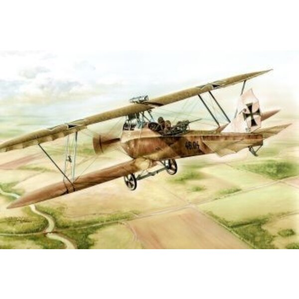 Lloyd C.V serie 46. Two types of two-seat aircraft were mainly used to provide aerial reconnaissance in the Austro-Hungarian air