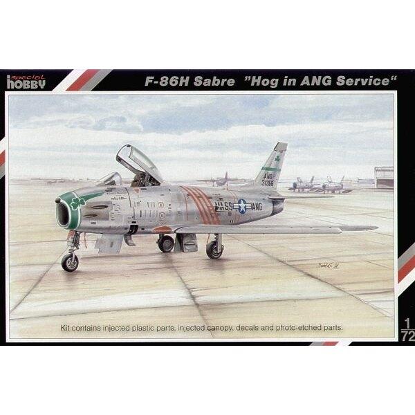 North American F-86H Sabre Dog ′ANG′