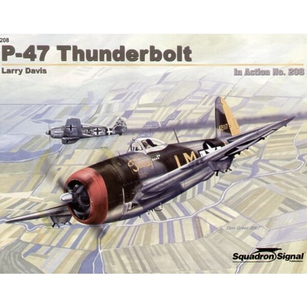 Republic P-47D Thunderbolt (In Action Series)