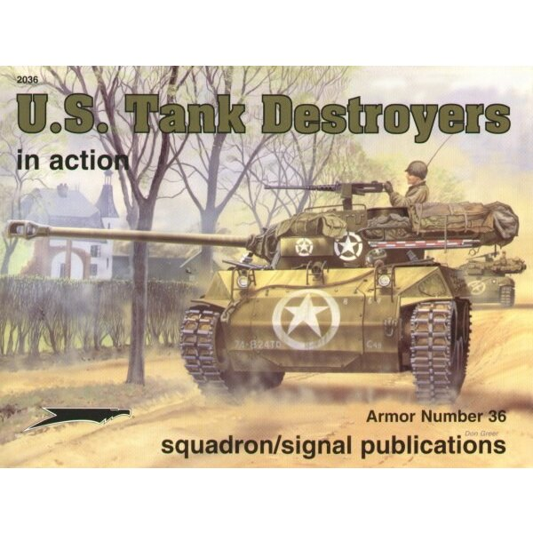 Book US Tank Destroyers M3 M6 M10 M36 M18 Hellcat (In Action Series)