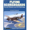 book flying scoreboards aircraft mission & kill markings (specials series)