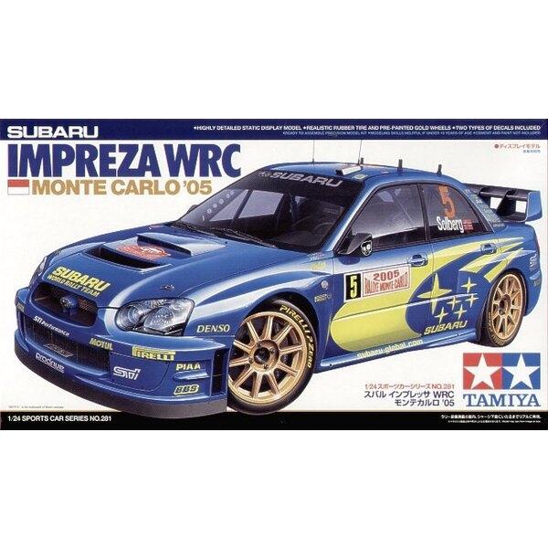 Subaru Imprezza WRC Monte Carlo 05