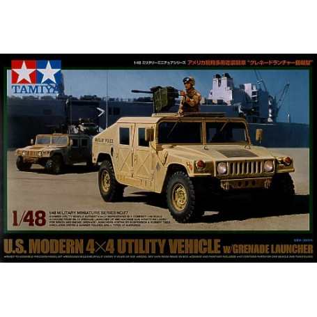 Hummer US Modern 4x4 with Grenade Launcher