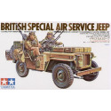 SAS Jeep with 2 Crew figures LTD Re-issue Tamiya TA35033