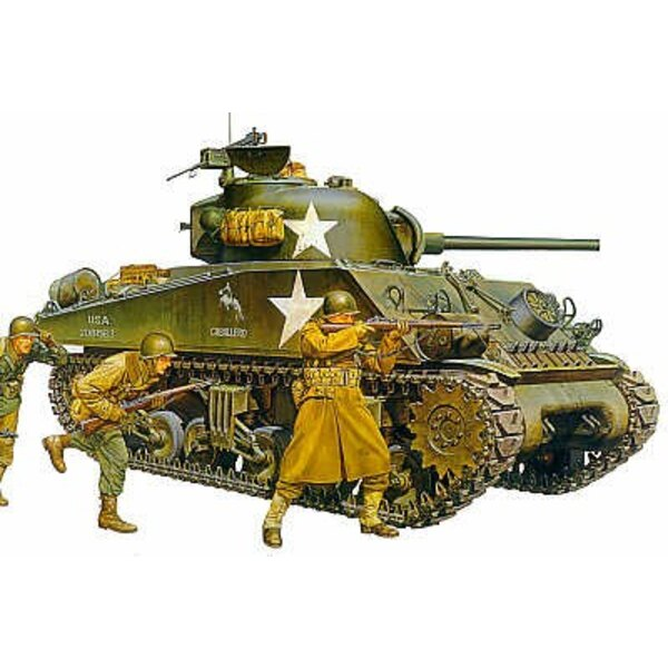 M4A3 Sherman late production type with 75mm Gun