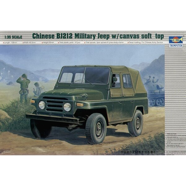 Chinese B1212 Jeep with canvas soft top