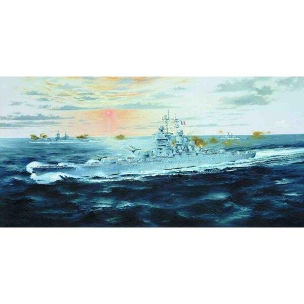 Jean Bart 1955 French Battleship