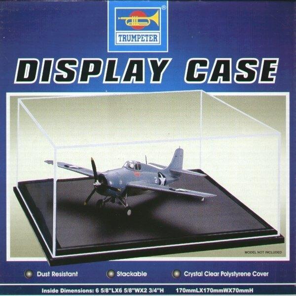 Display Case 170mmL x 170mmW x 70mmH