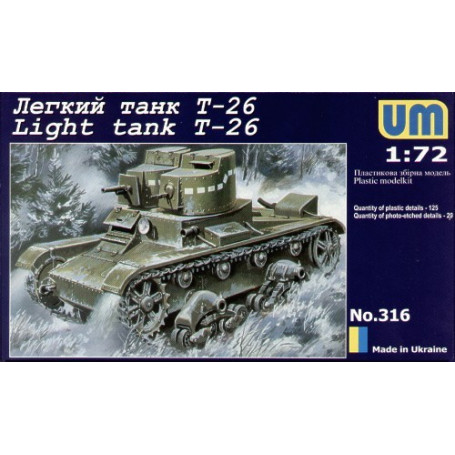 T-26 light tank with twin turret model 1931
