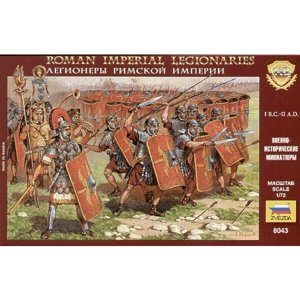 Roman Imperial Infantry (1BC- 11AD)