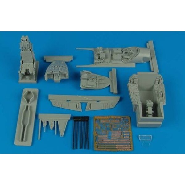 Eurofighter EF-2000A Typhoon cockpit set(designed to be used with Revell)