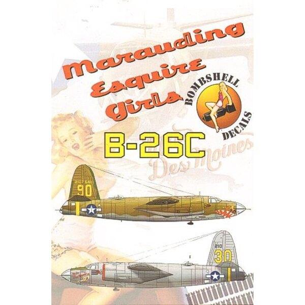 Martin B-26C Marauder Ann and Miss Des Moines. 44th BS, 320th BG/442nd BS, 320th BG
