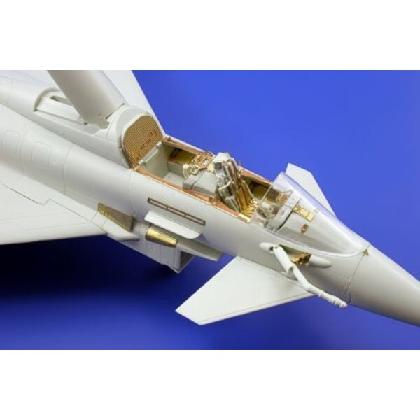 Eurofighter EF-2000 Typhoon Two seat seatbelts (designed to be used with model kits from Revell)