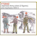 2 japanese army pilots wwii