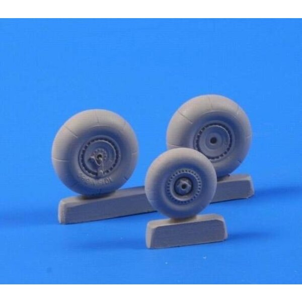 Dornier Do 335B Wheels (designed to be assembled with model kits from Tamiya)