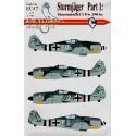 decals focke wulf fw 190a sturmjager pt 1 (4) white 20 sturmstaffel 1 maj hans-gunther von kornatzki
