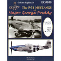 The North American P-51 Mustangs of Major George Preddy. Superb fully illustrated 26 page book with colour side views by Thomas