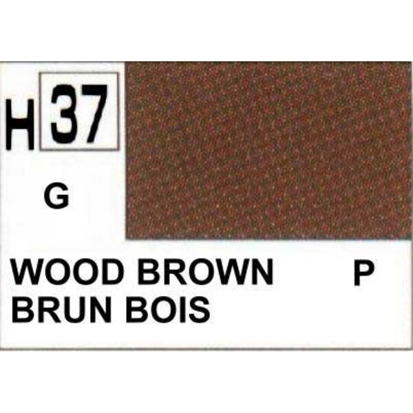 H037 Wood Brown gloss