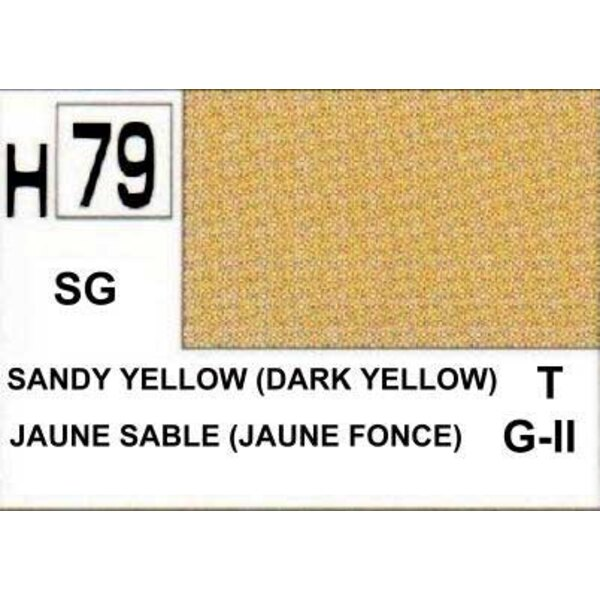H079 Dark Sand Yellow matt