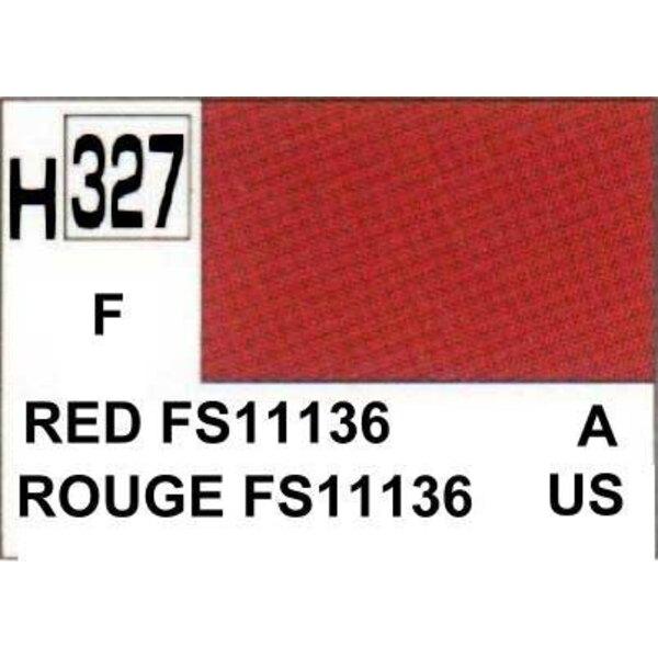 H327 Red FS11136