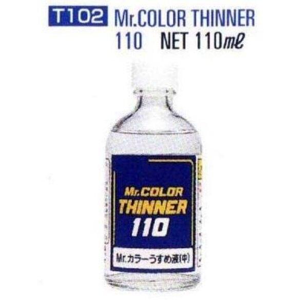T102 Thinner 110 ml (4 floz) Enamel