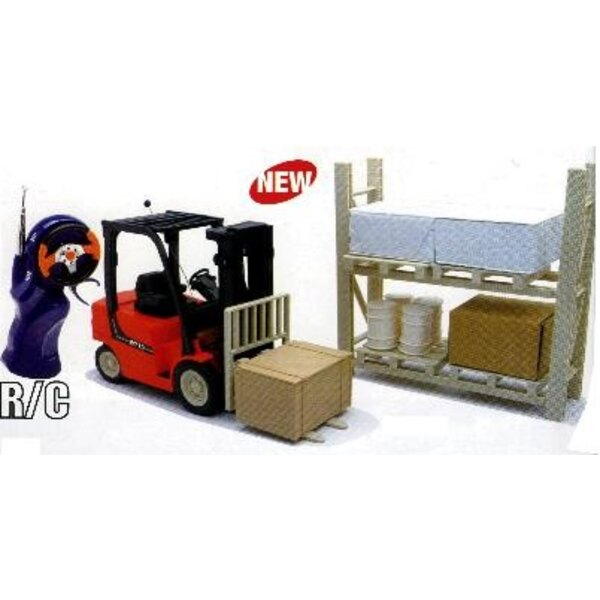 Forklift RC + Accessories E/14