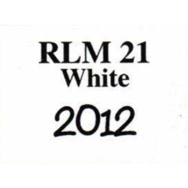 white RLM 21 0.57 floz