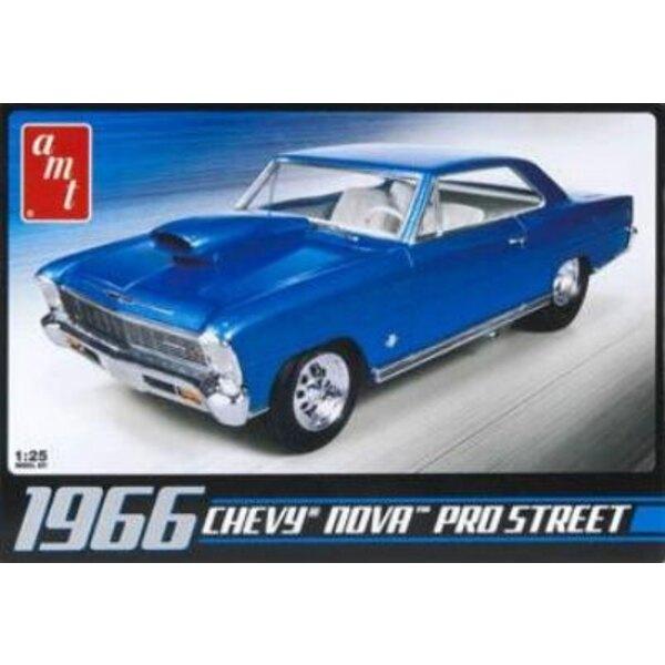 Chevy nova pro street 1966 Chevrolet 66 1:25