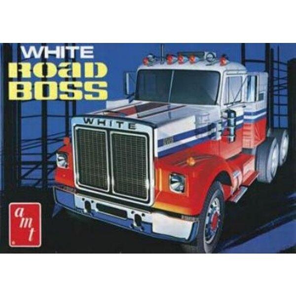 road boss truck white 1:25
