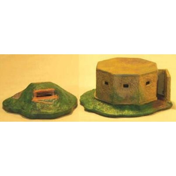 Pill Box And Dug Out 28mm