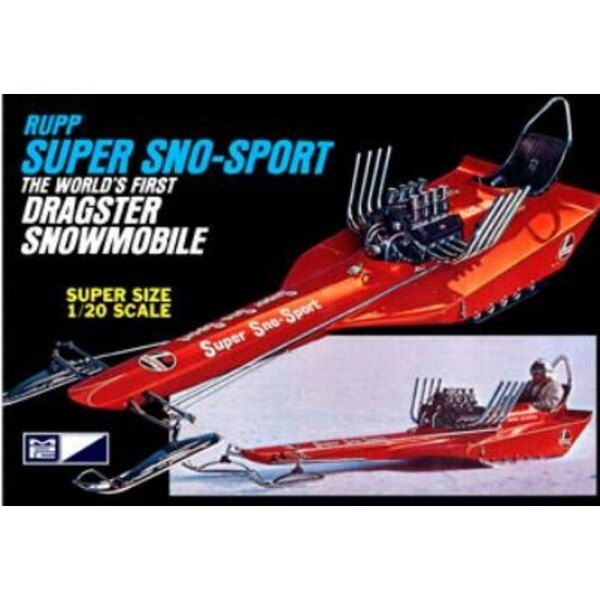 Super Sno-Sport Snowmobile 1:20
