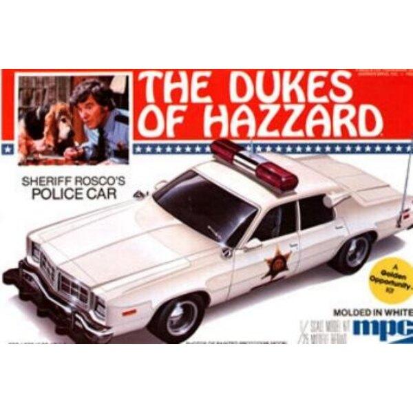 Dodge Roscoe Monaco Police 1:25