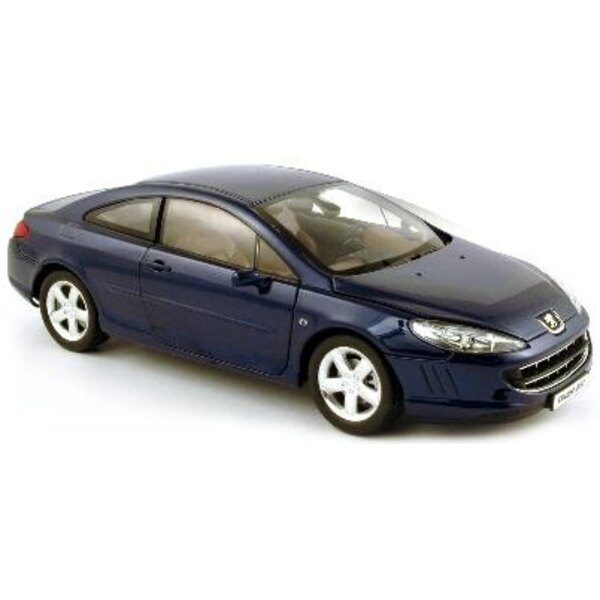 407 Coupe Blue Montebell06 1:18