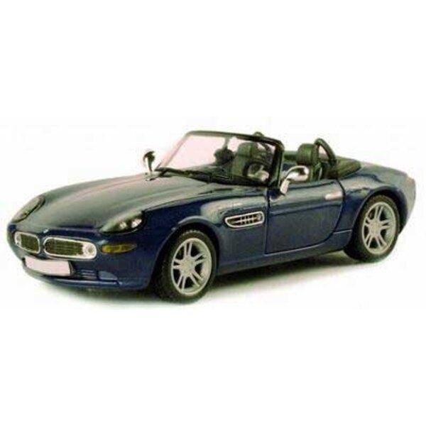 BMW Z8 Blue Metal with grey interior 1:43