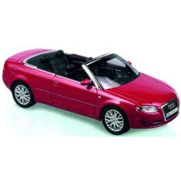 Audi A4 convertible Red Gren 1:43