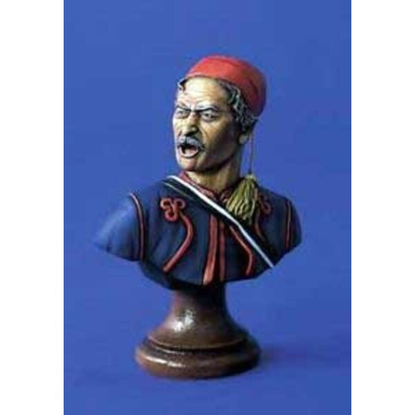 Bust Of Pennsylvania Zouave 200mm