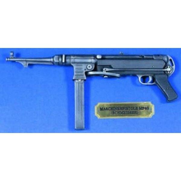 Mp40 Assault Rifle WW2 1:4