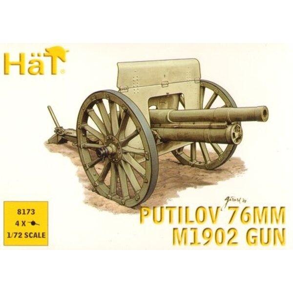 WWI Putilov 76mm Gun