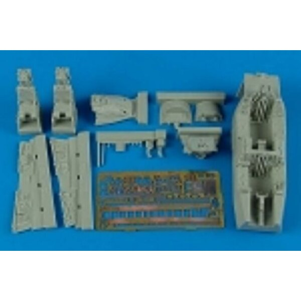 Grumman F-14A Tomcat cockpit set (designed to be assembled with model kits from Academy)