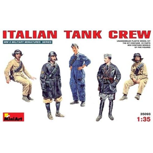 Italian (WWII) Tank Crew