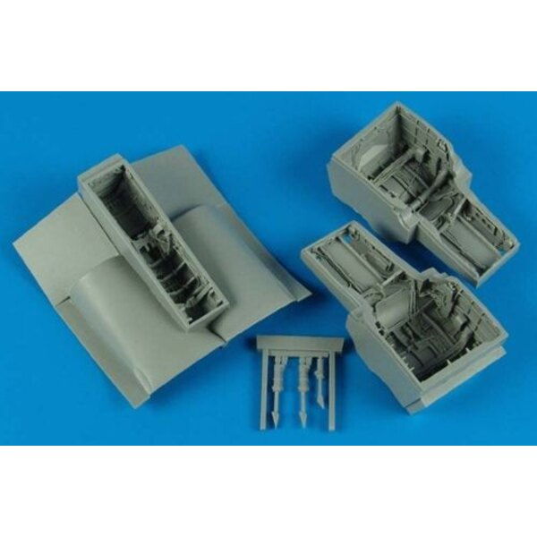 EF-2000A Typhoon wheel bay (designed to be assembled with model kits from Revell)