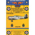 decals early curtiss p-36a fighter 16th pg